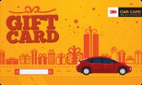 3M Car Care Gift Card-logo