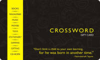 Crossword E-Gift Card