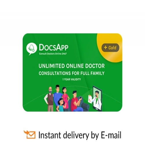 DocsApp E-Gift Card - 499 Plan