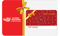 Flying Machine Gift Card Logo