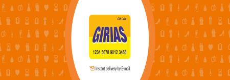 Girias E-Gift Card