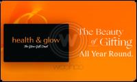 Health and Glow Gift Card Logo