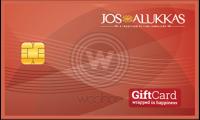 Jos Alukkas Jewellery E-Gift Card Logo