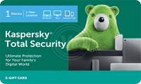 Kaspersky Total Security E-Gift Card