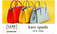 KATE SPADE -LUXE E-GIFT CARD