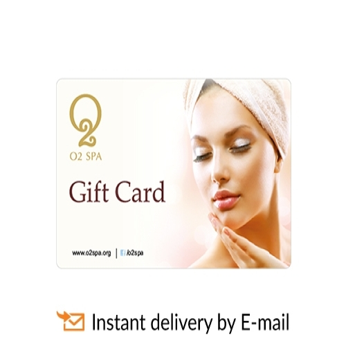 O2 Spa Salon E-Gift Card