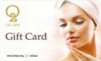 O2 Spa Salon Gift Card Logo