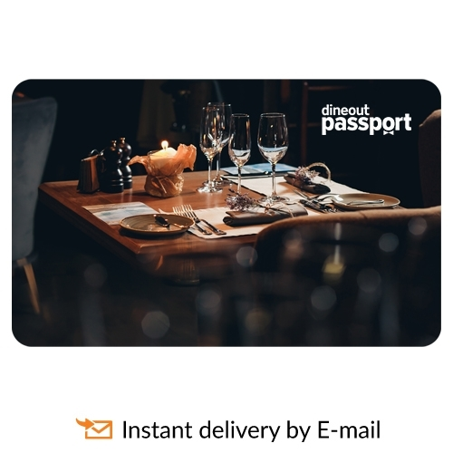 Dineout Gourmet Passport Mumbai-12 Months