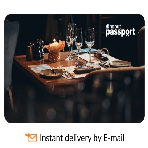 Dineout Gourmet Passport All 20 Cities-3 Months