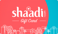 Shaadi Gold E-Gift Card - Rs. 4450 for 3 months subscription