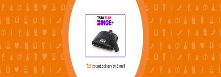 Tata Sky Binge Plus Subscription E-Gift Card