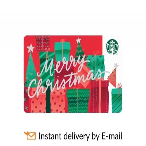 Starbucks eGift Card - Merry Christmas