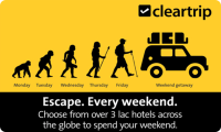 Cleartrip Hotels E-Gift Card
