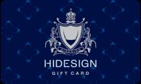 Hidesign E-Gift card